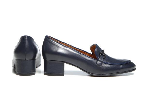 Дамски обувки Vera Pelle модел - 880119 синя кожа