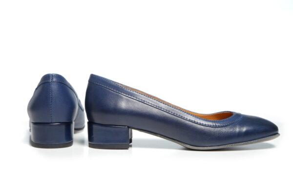 Дамски обувки Vera Pelle модел - 881019 синя кожа