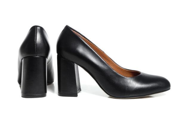 Дамски обувки Vera Pelle FLEX модел - 2021черна кожа