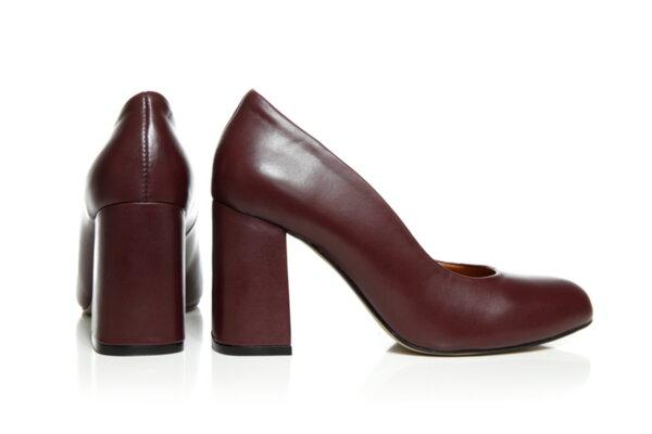 Дамски обувки Vera Pelle FLEX модел - 2021 кожа бордо
