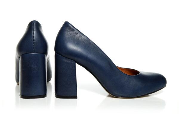 Дамски обувки Vera Pelle FLEX модел - 2021 синя кожа