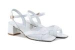 Дамски сандали Vera Pelle модел  9729 бяла кожа