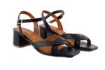 Дамски сандали Vera Pelle модел  - 9729 черна кожарно