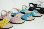 Дамски сандали  Vera Pelle модел - 820 розова кожа