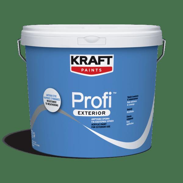 Водно дисперсионна акрилан боя  фасаднаPROFI EXTERIOR KRAFT PAINTS