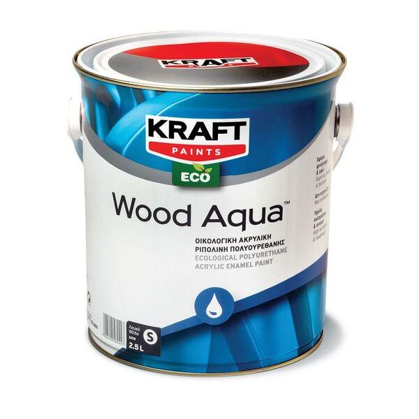 Полиуретанова боя за дърво Wood Aqua KRAFT PAINTS