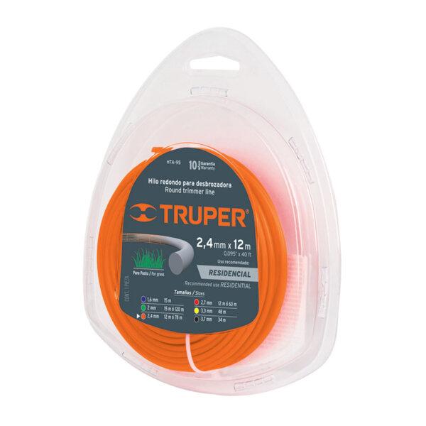 TRUPER корда за тример - кръгла; 2,4 мм - 12 м