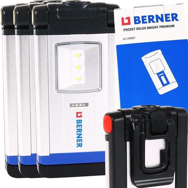 BERNER LED Lamp Pocket Delux Premium