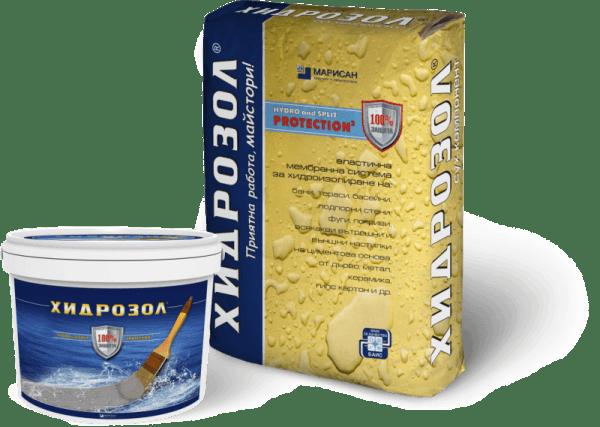 Хидроизолация Хидрозол Flex Pro 2-K еластична, двукомпонентна