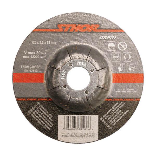 STHOR Диск за рязане на камък 115×3,2×22 мм