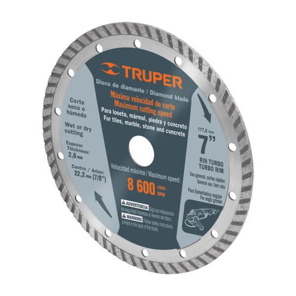 TRUPER Диамантен режещ диск универсален – Ø229 мм