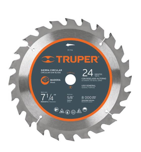 TRUPER Диск за циркуляр 32 зъба – Ø210 мм