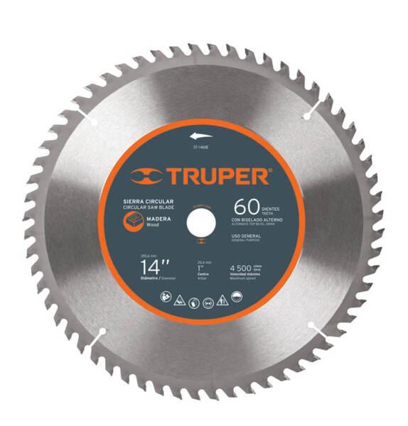 TRUPER Диск за циркуляр за дърво – Ø356 мм