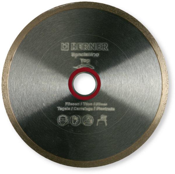 Диамантен диск за рязане BERNER Specialline Tiling Top Wet SPECIALline