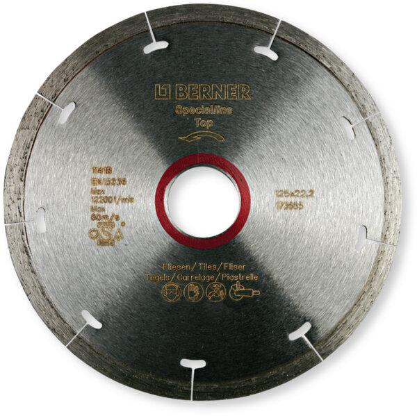 Диамантен диск за рязане BERNER SPECIALline за сухо рязане, диск за плочки