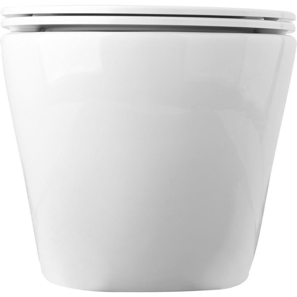 Тоалетна чиния за стена FALA, RIMLESS, TOP, 490 x 370 мм