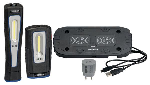 К-кт сервизни лампи DeLux Wireless и X-Lux Wireless + безжично зарядно WIRLESS