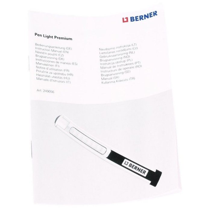 Работна Лампа Бернер Pen Light Premium Micro USB
