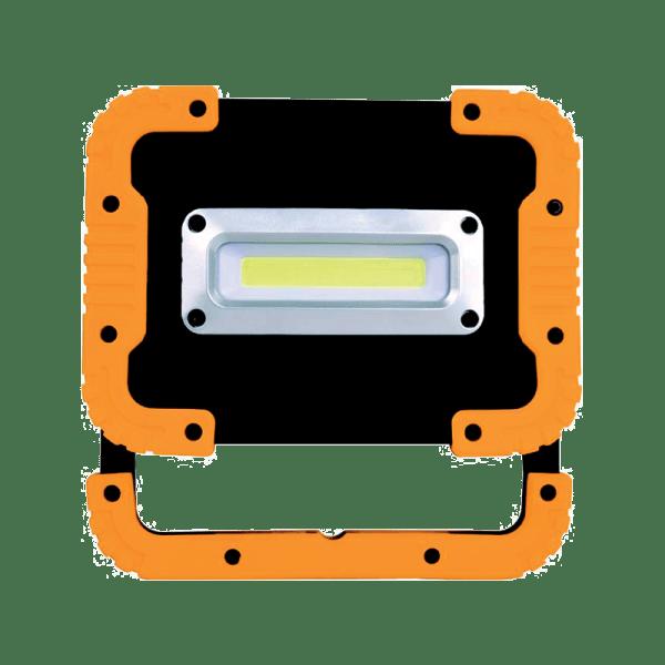 Работна  лампа-прожектор с БАТЕРИЯ И USB ЗАРЯДНО 10W СЕРВИЗНА