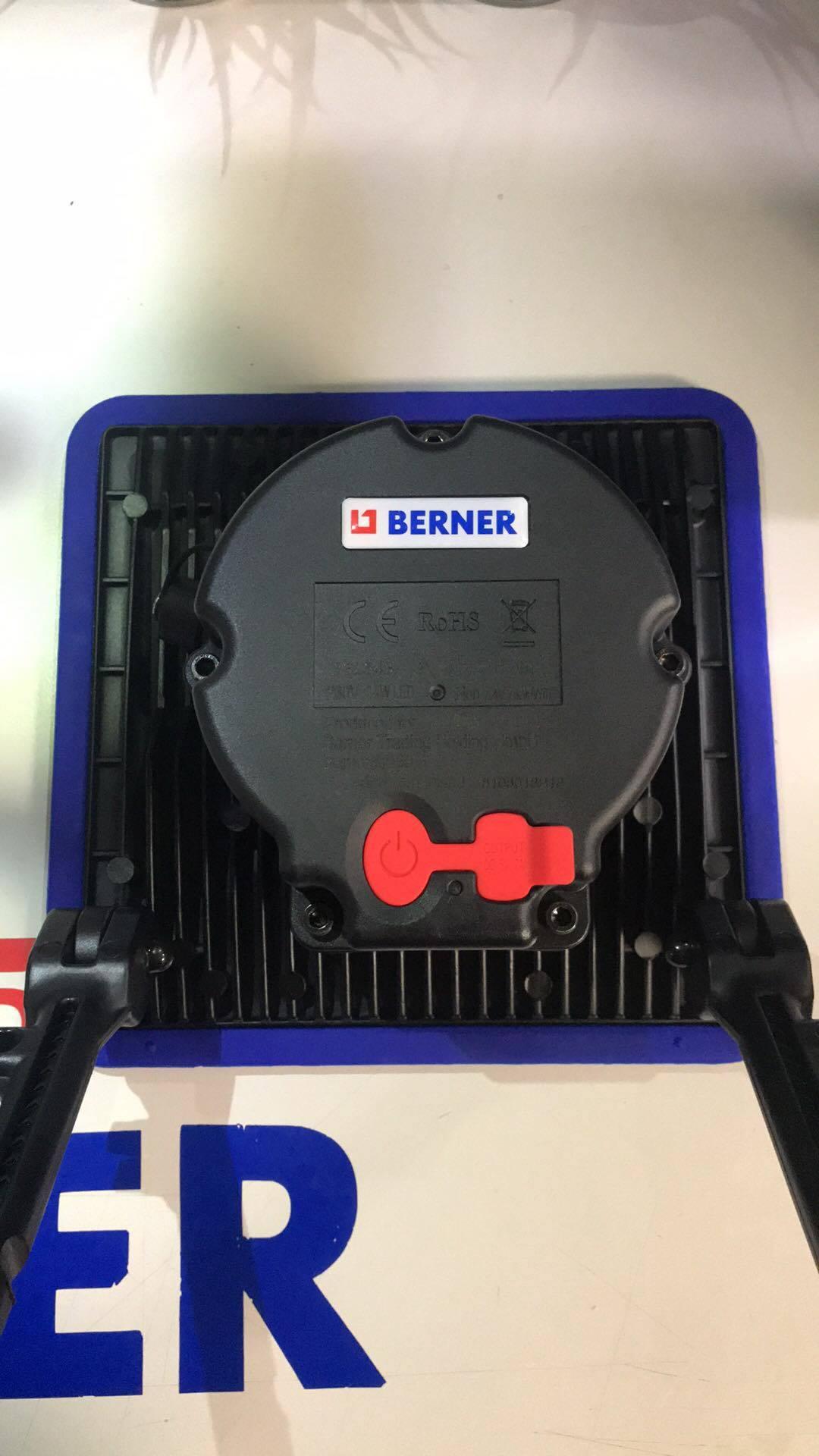 Работна лампа-прожектор с БАТЕРИЯ И USB ЗАРЯДНО 30W СЕРВИЗНА BERNER