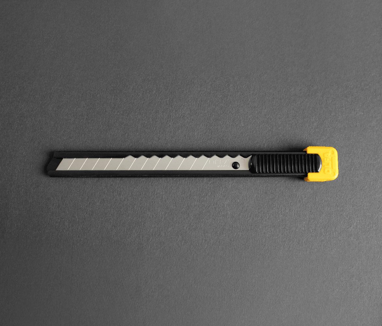 Макетен нож STANDART, OLFA S 20, 9 mm, AB, ABB
