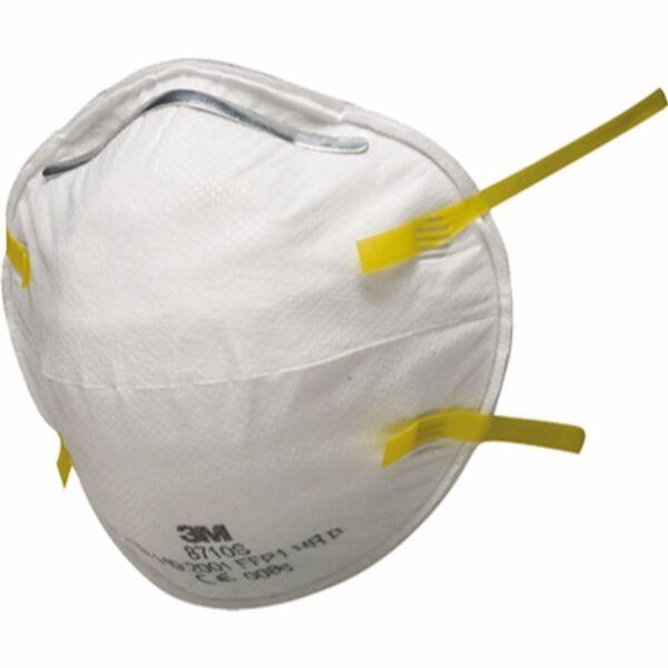 Респираторна маска 3M, 8710Е, жълта лента, FFP1