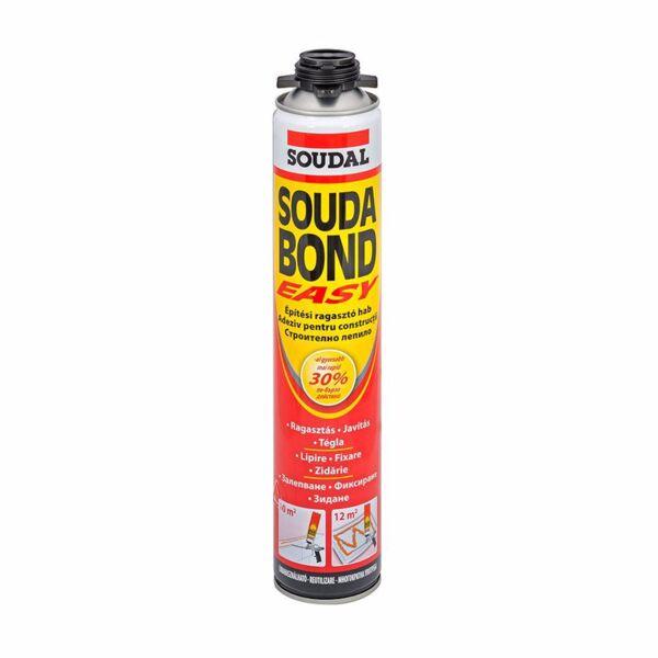 Лепило за изолации SOUDAL, Sudabond Easy, 750 ml, пистолетно