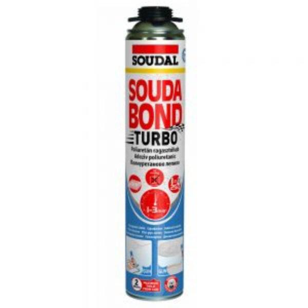 Полиуретаново лепило пистолет Soudabond Turbo, 750 ml