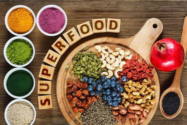 Суперхрани и Антиоксиданти Изображение