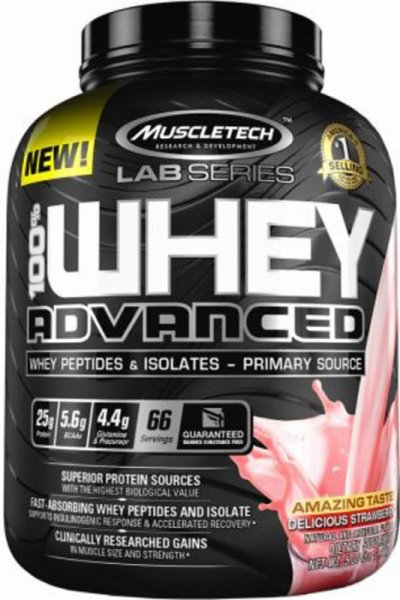 MuscleTech 100% Whey Advanced 2.27kg (5lb)