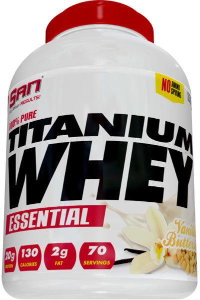 San 100% Pure Titanium Whey Essential 2.27kg (5lb)