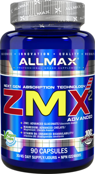 AllMax ZMA - 90 капсули