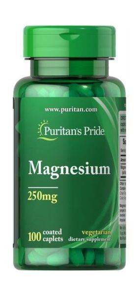 Puritan's Pride Magnesium 250mg - 100 таблетки