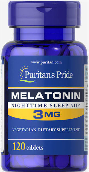Melatonin 3mg - 120 таблетки