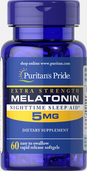 Melatonin 5mg - 60 гел капсули