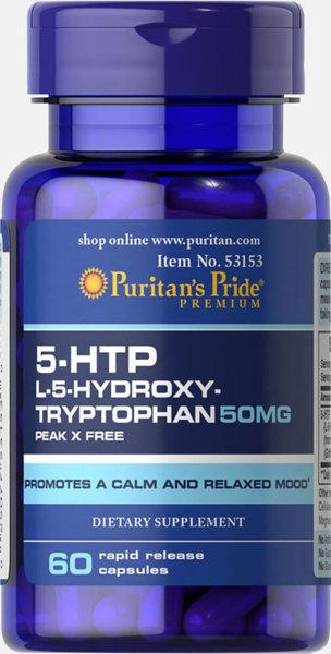 5-HTP 50mg - 60 капсули