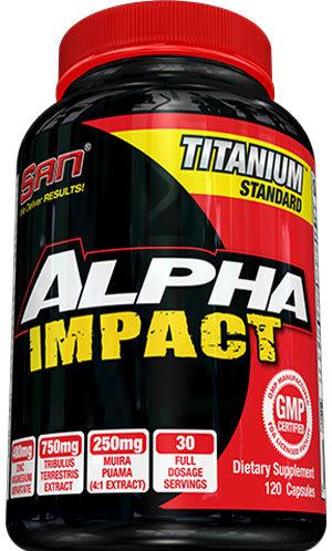 San Alpha Impact - 120 капсули