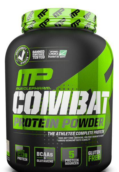 MusclePharm Combat Protein Powder 2kg (4.4lb)