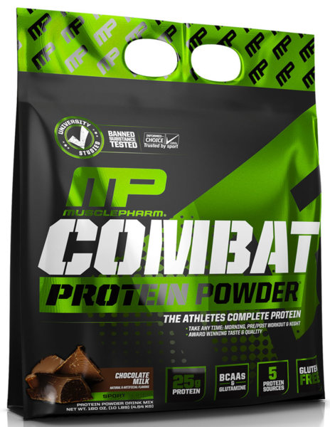 MusclePharm Combat Protein Powder 4.54kg (10lb)