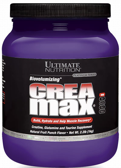 Ultimate Nutrition CREA Max 1kg (2.2lb)
