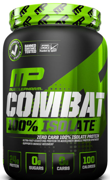 MusclePharm Combat 100% Isolate 2.27kg (5lb)