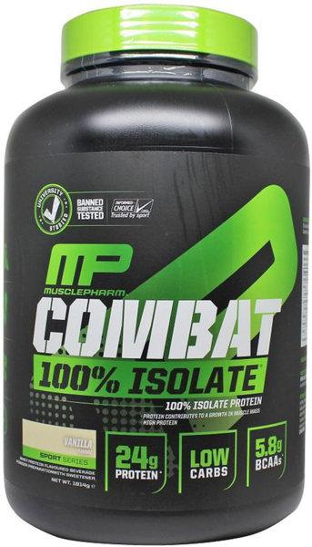 MusclePharm Combat 100% Isolate 1.81kg (4lb)