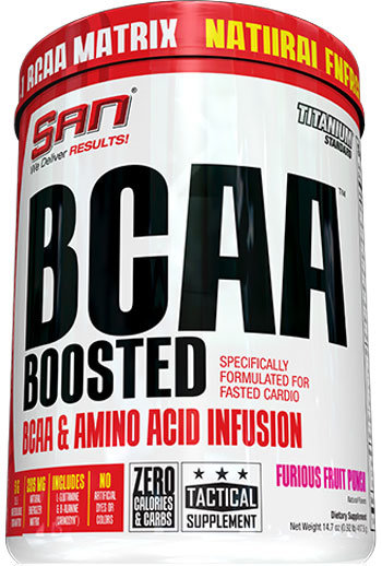 San BCAA Boosted 417g