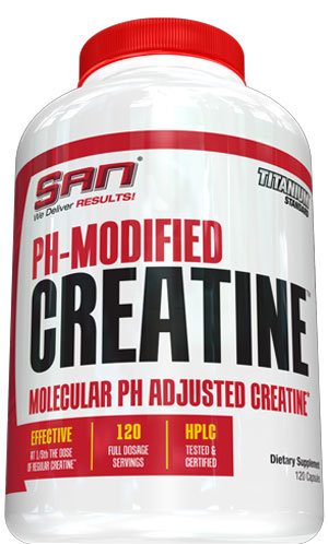 San PH Modified Creatine - 120 капсули
