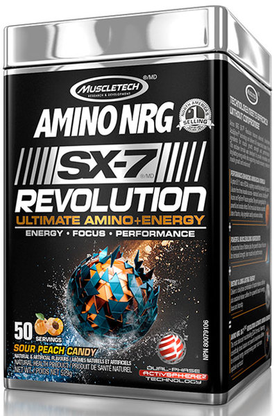 MuscleTech Amino NRG SX-7 Revolution 529g