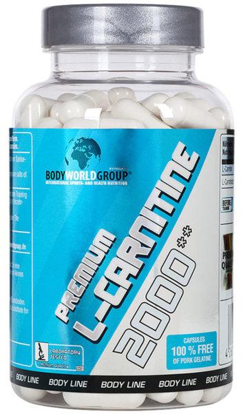BWG Premium L-Carnitine 2000 - 100 капсули