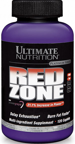 Ultimate Nutrition Red Zone - 120 капсули
