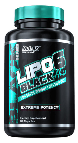 Nutrex Lipo-6 Black Hers - 120 капсули