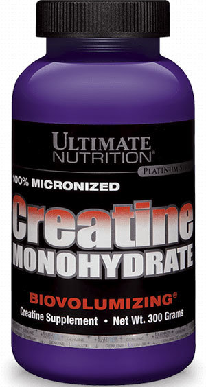 Ultimate Nutrition Creatine Monohydrate 300g