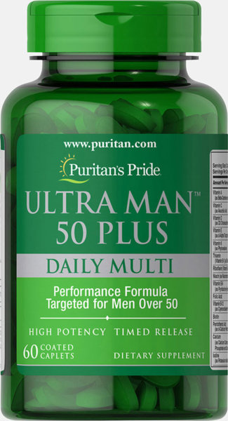 Puritan's Pride Ultra Man 50 Plus - 60 каплети